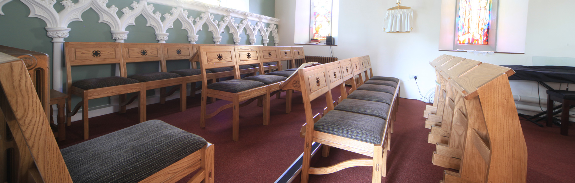 ICS chairs in St. Matthew's Chadderton