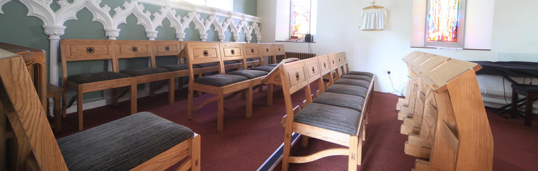ICS chairs in St. Matthew's Chadderton