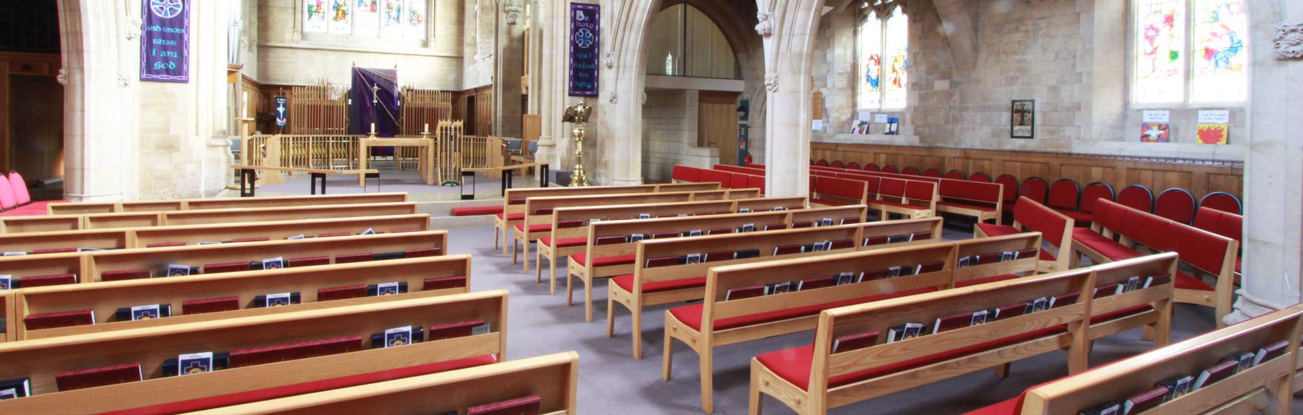 ICS projects in St. Mark's Church, Harrogate
