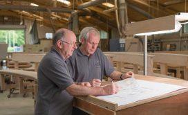 Craftsmanship designing planning drawings sketches manufacturing factory furniture