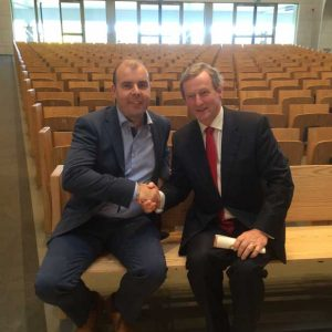 Knock Basilica Enda Kenny Taoiseach Flip up seating bespoke ICS Gavin Duignan furniture design
