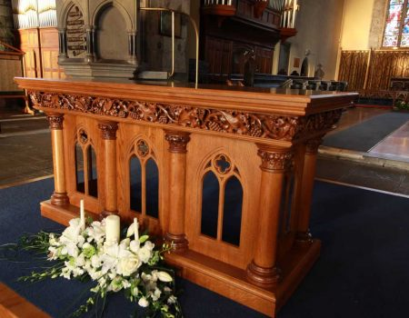 Church Altar Furniture Ics Church Furnishers