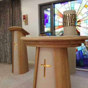 ICS Product Altar Lectern Tabernacle Sanctuary Bespoke Lamp right angle