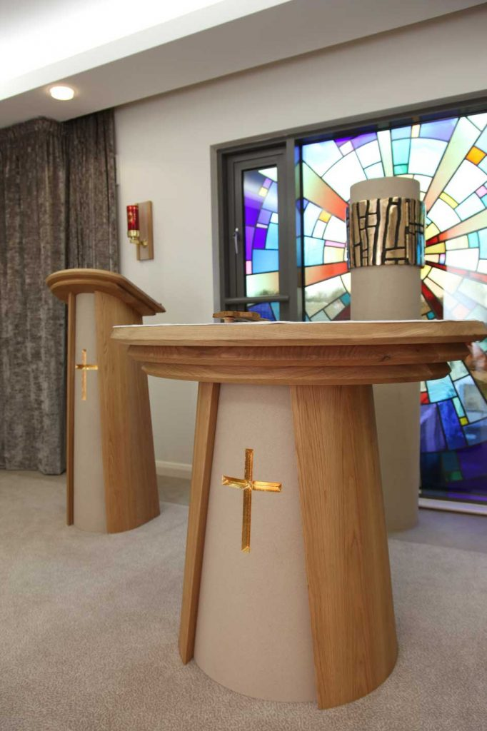 altar and communion table design and creation