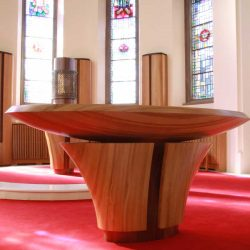 ICS Product Altar Our Lady and St Joseph Caragh Kildare Tabernacle Curved Radiator Covers Bespoke Unique