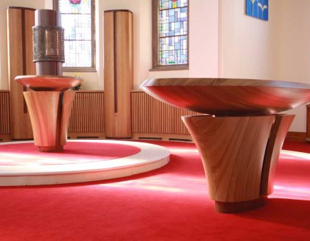 ICS Products Altar Bespoke Craft Design Church Our Lady and St Joseph Caragh Kildare