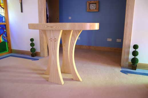 Altar And Communion Table Design And Creation Ics Church