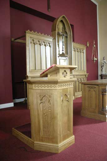 Customised Ambos For Churches Ics Church Furnishers