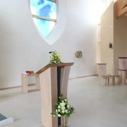 ICS Product ambo church bench wedding chairs presider's