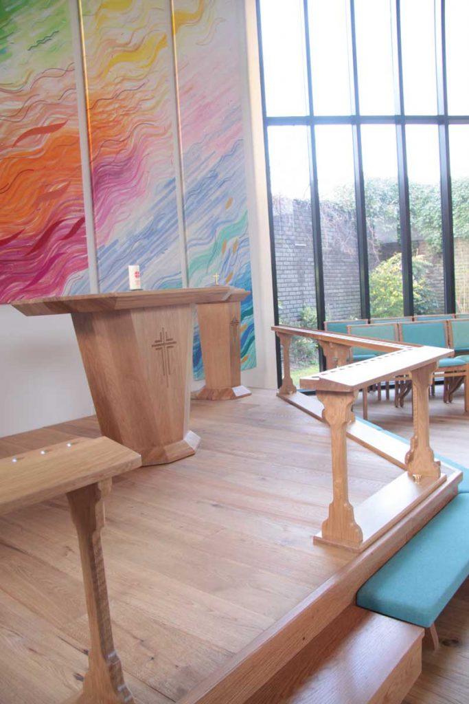 Custom Made Communion Rails Ics Church Furnishers