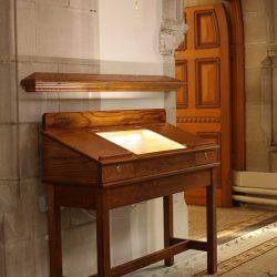 Display Unit entrance furniture solid wood craft bespoke design