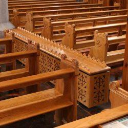Radiator Cover bespoke wooden design church furniture joinery