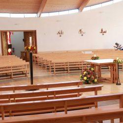 Curved Pews bespoke bentwood unique master craftsmen durable furniture church