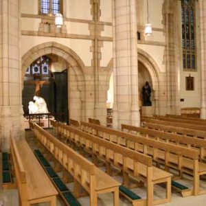 Modern Bench Pew portrait all wooden frontals large church cathedral (3)