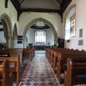 Finchemstead Landscape Pews bespoke engraved book shelves baptismal font