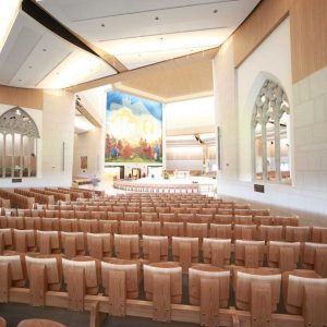 Auditorium Flip Seating Wide View Innovative Design Knock Bespoke Shrine