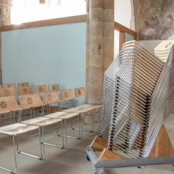 ICS innovative designs Christchurch stacking chairs