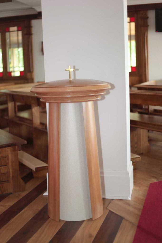 Baptismal Font Creation Ics Church Furnishers