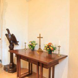 Table bespoke dark wood Oxshott design craft