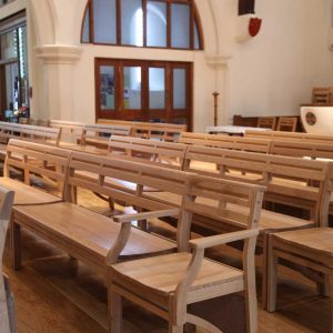 St John's Church, Farncombe Wooden Stacking Bench