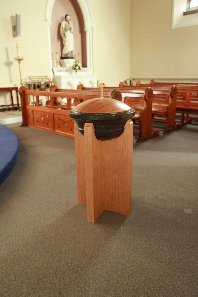 Baptismal Font Creation Ics Church Furnishers