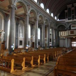 Restoration before the fire damage to St Mel's Cathedral Longford