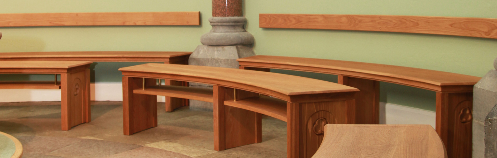 ICS Benches in Sligo Cathedral