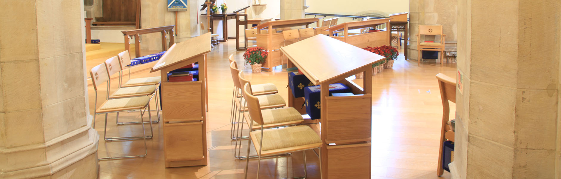 ICS Church Furnishers bespoke church furniture designs