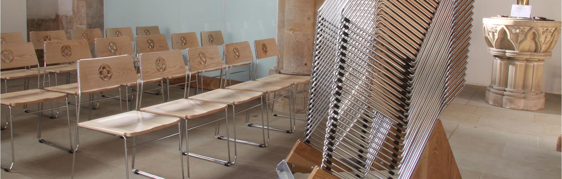 ICS innovative design metal frame chairs
