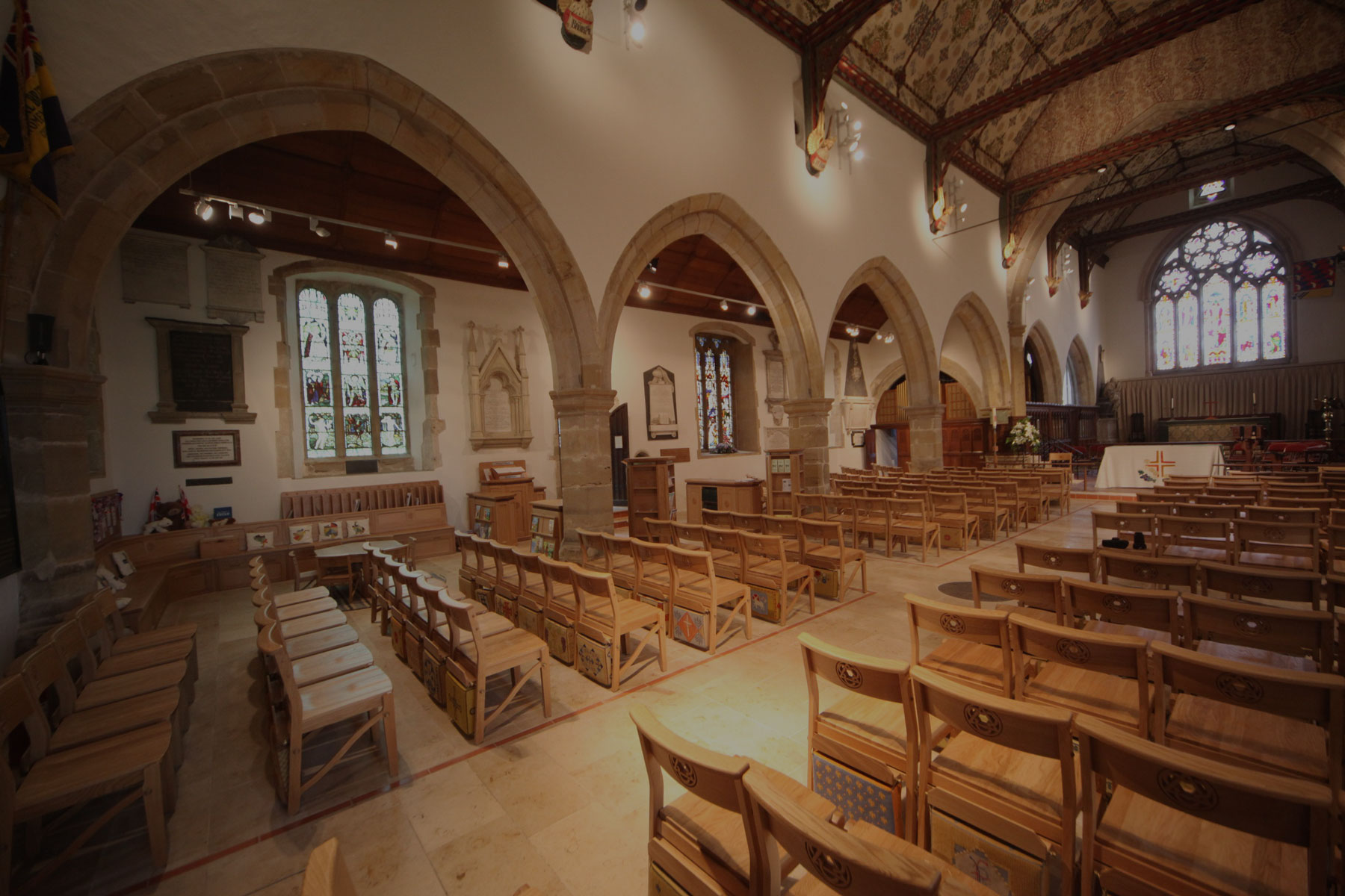 ICS project in the Holy Trinity Church, Cuckfield