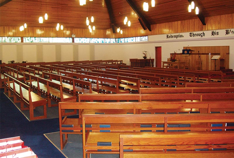 Armagh Free Presbyterian Church Ics Church Furnishers