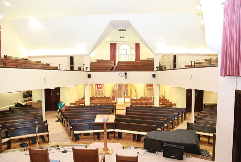 Stanborough Park Church, UK | ICS Church Furnishers