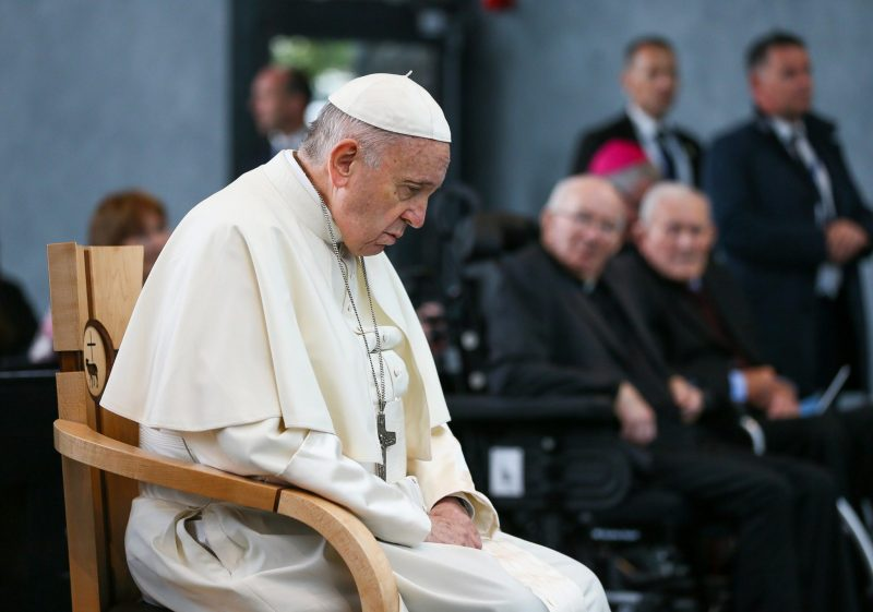 ICS Furniture produce special chair for Popes visit to Knock