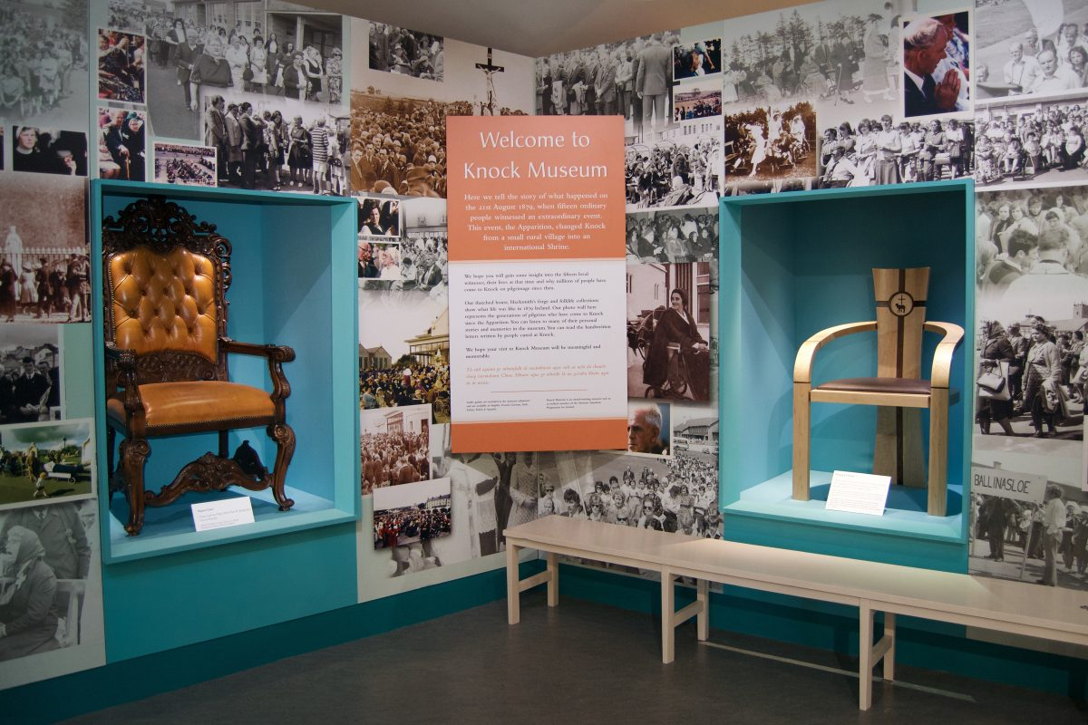 ICS Furniture's Papal Chair Design Displayed at Knock Museum