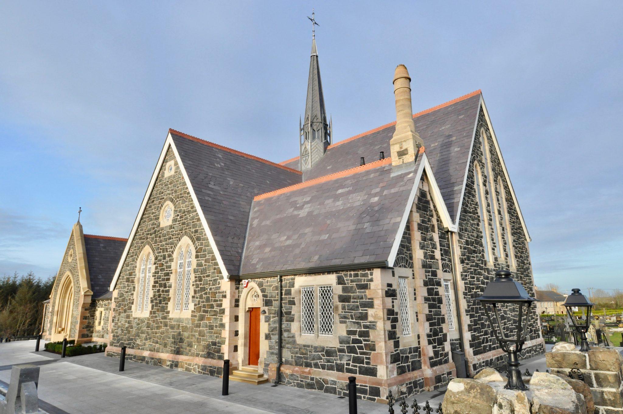 St Marys Church Lavey Exterior