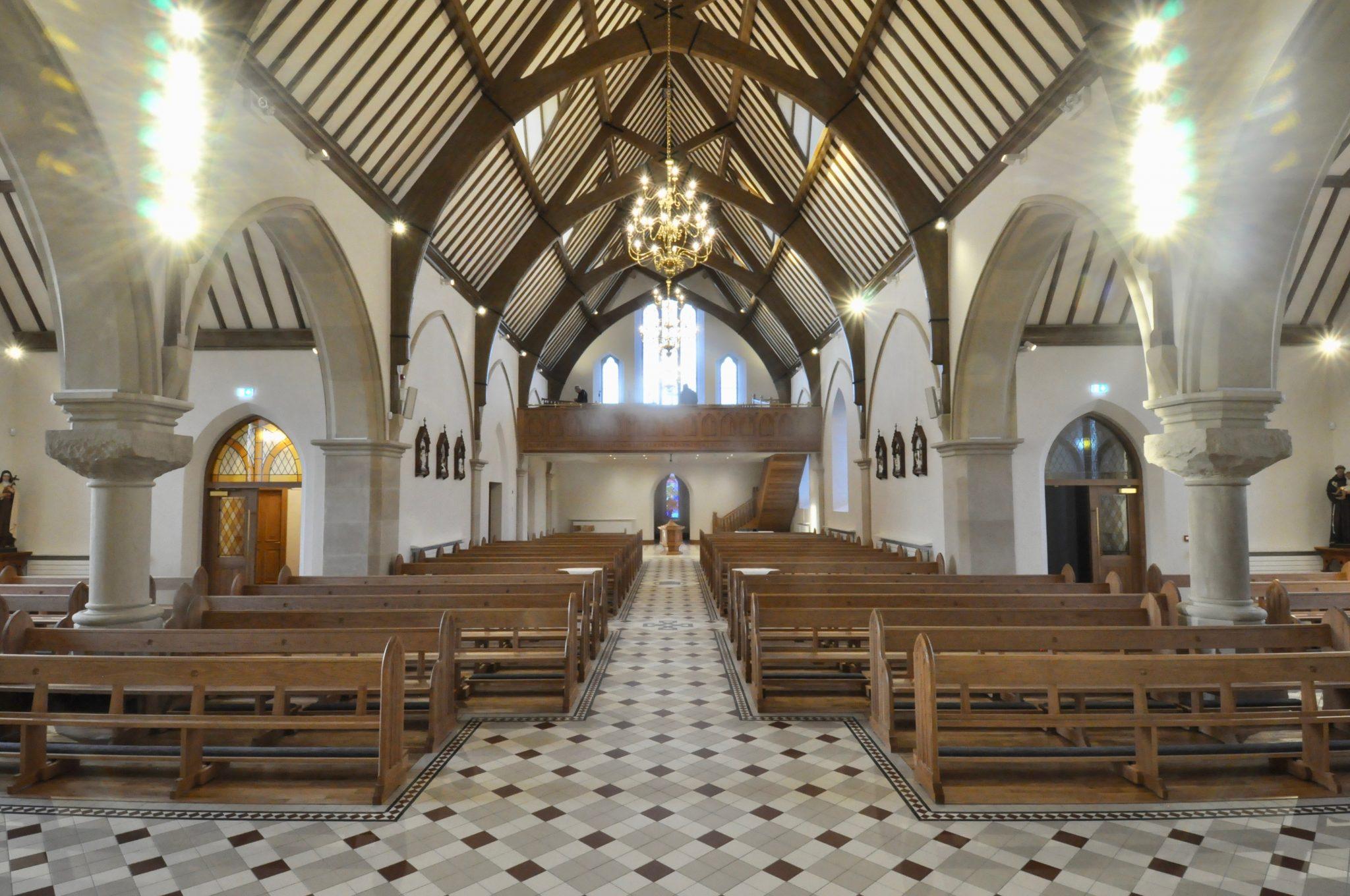 St Marys Church Lavey Interior
