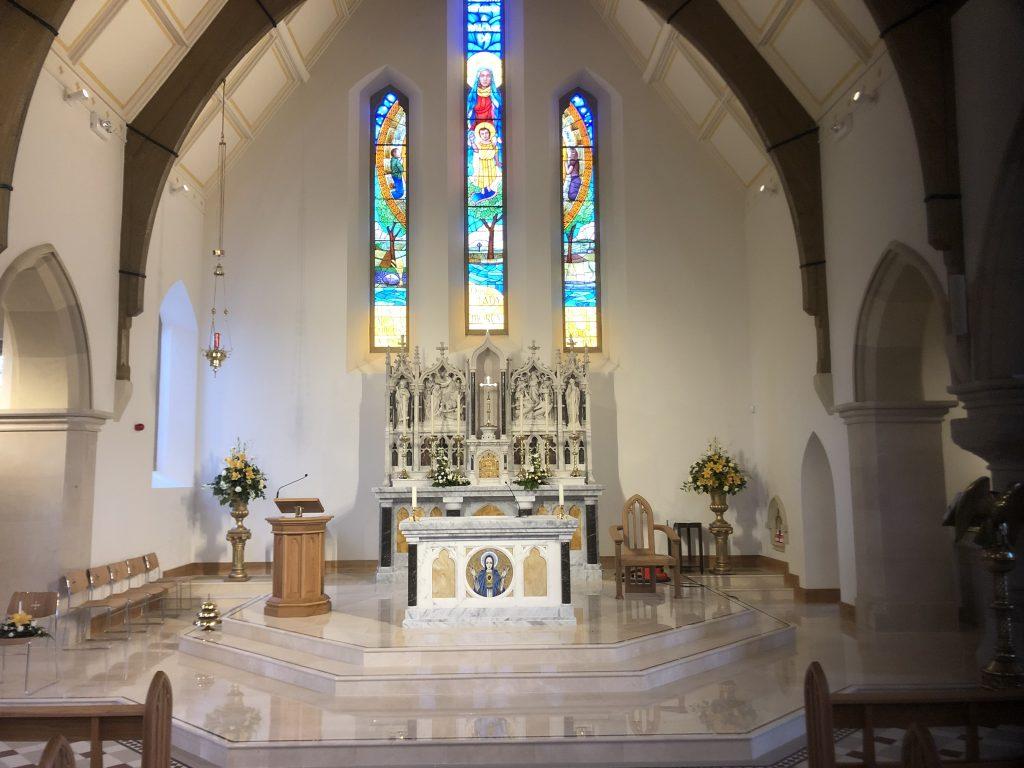 St Marys Church Lavey Altar
