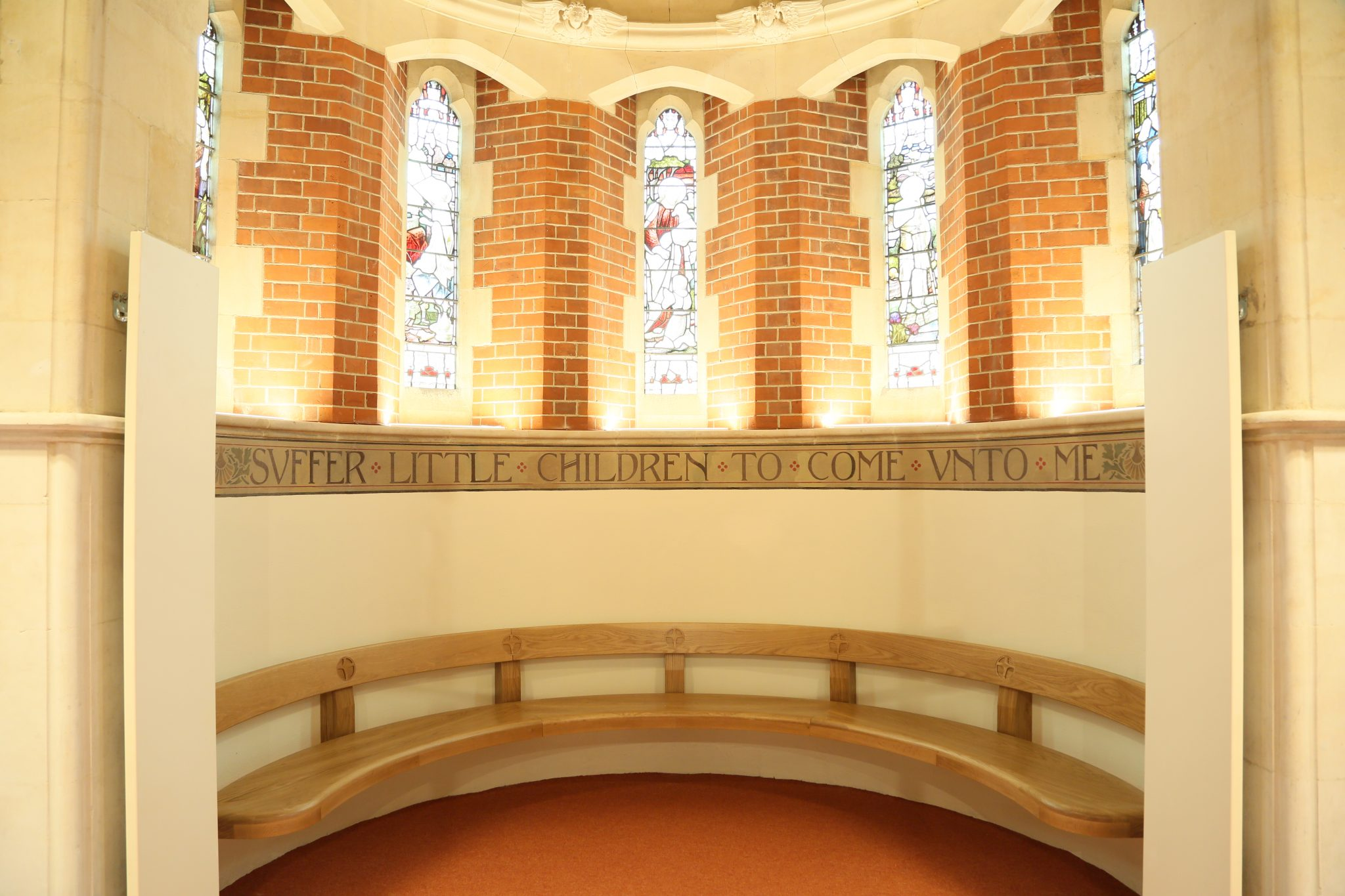 Bespoke Curved Bench