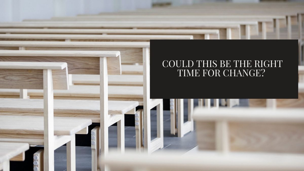 Covid 19- Its detrimental effects on everything, including our church seating.