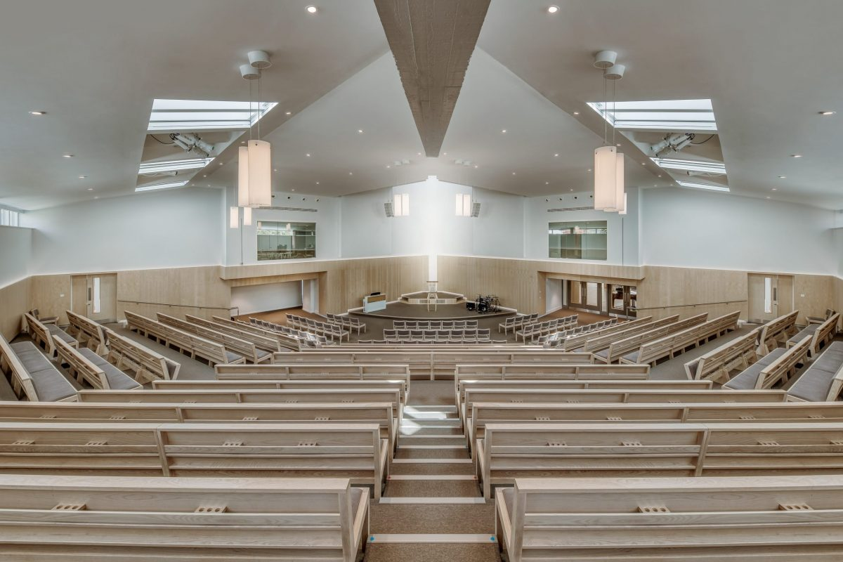 Three is the Magic Number for Guildford Baptist Church